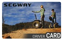 Segway Driving card